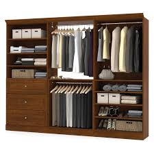 Closet Kit Versatile By Bestar 40165 36 In Corner Storage Unit Hayneedle