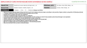 Writers Resume Sample by Twic Card Holders Resumes Samples