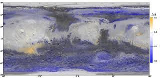 Planet Map Nasa A Gloomy Mars Warms Up