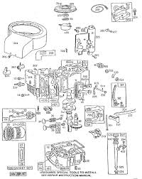 briggs u0026 stratton engine parts and diagrams automotive parts