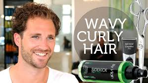 why is my hair curly in front and straight in back how to deal with wavy unruly men s hair curly brody jenner