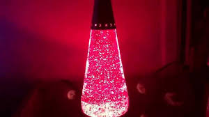 red glitter wizard my 1st glitter lamp youtube