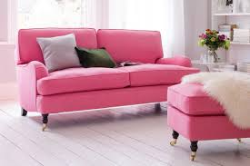 how to light up a room how to light up your living room with a pink sofa great idea hub