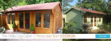 garden sheds and garden buildings tiger sheds