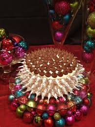 luxurious christmas decorations for table centerpieces in living