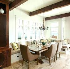 dining room with banquette seating banquette seating dining table with banquette seating large image