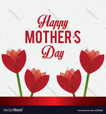 mother s day card designs happy mothers day card design royalty free vector image