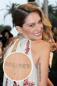 models with tattoos kate moss chanel iman and female model tattoos
