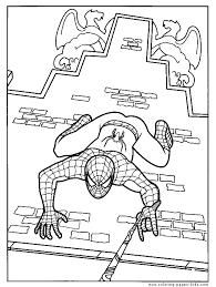 spider man printable coloring kids spider man webslinger