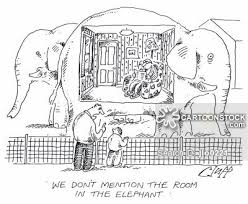 the elephant in the room cartoons and comics funny pictures from