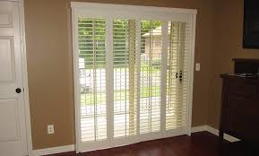 Bypass Shutters For Patio Doors Bypass Shutters For Sliding Glass Doors Womenofpower Info