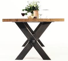 Esszimmer Tisch Vintage Rustikale Esstische In Massiver Balkeneiche Online Bestellen