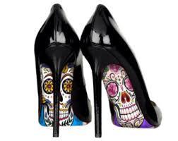 Skull High Heels Skull Heels Etsy