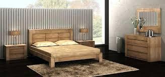 chambre à coucher en chêne massif chambre bois massif chambre figaro chene clair chambre a coucher