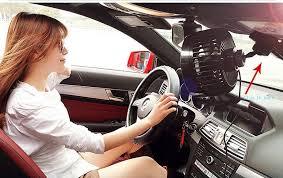plug in car fan intsun 12v 6 inch car clip fan automobile vehicle car fan