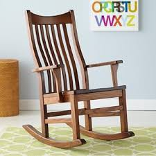 Wooden Rocking Chairs Nursery Nursery Rocker Chair Classic Wooden Rocking Chair Polyvore