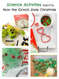 how the grinch stole christmas science activities read science