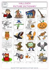 Halloween Crosswords Puzzle Printable by Halloween Free Esl Efl Worksheets Made By Teachers For Teachers