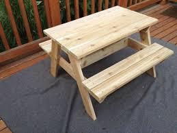 folding picnic table bench plans pdf little kids picnic table erikaemeren