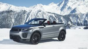 range rover convertible 2017 range rover evoque convertible hse si4 color corris grey