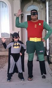 halloween costumes for dad and son wave at the bus september 2011