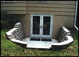 Basement Dig Out Cost by Basement Entrances Basement Egress Systems Custom Basement