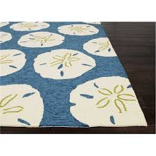 Outdoor Rugs Overstock Living Indoor Outdoor Area Rug Sand Dollar Navy And White
