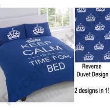 piumone 1 piazza e mezza copri piumone keep calm time for bed scuro una piazza e mezza