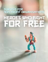 surveylegend nonprofit organization survey templates