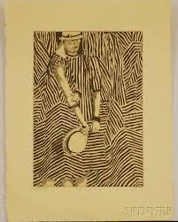 three works on paper joseph hecht british polish 1891 1951