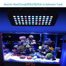 best lighting for corals marsaqua dimmable 165w led aquarium light full spectrum reef marine