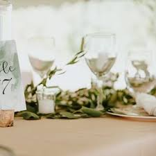 table numbers with pictures wedding table numbers