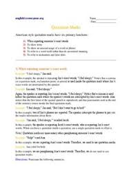 quotation marks worksheet english for everyone pdf drive