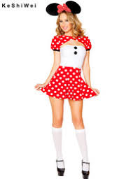 Cheap Womens Halloween Costumes Discount Minnie Mouse Halloween Costumes Adults 2017 Minnie