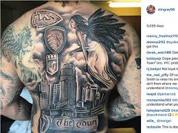 denver broncos linebacker shane ray defends tattoo with kansas