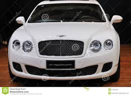 white bentley white bentley continental supersports speed china editorial image