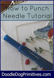 how to punch needle u2026 pinteres u2026