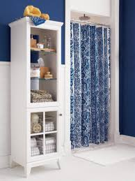 bathroom ideas with shower curtain shower curtain blues hgtv