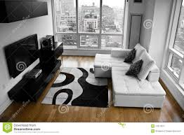 Modern Living Room Pictures Free A Modern Living Room Royalty Free Stock Image Image 14017656