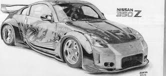 nissan skyline drawing nissan 350z tokio drift fast u0026 furious drawing dibujos