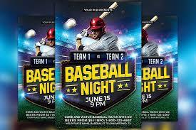 ace baseball card template card templates creative market