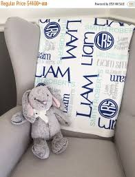15 personalized baby blanket monogram by thelittlearrows