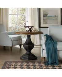 round pedestal accent table surprise 10 off hooker furniture sanctuary round pedestal accent