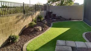 Backyard Landscape Ideas For Small Yards Synthetic Grass Archives Arizona Living Landscape U0026 Design