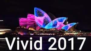 vivid light festival sydney opera house 2017 youtube