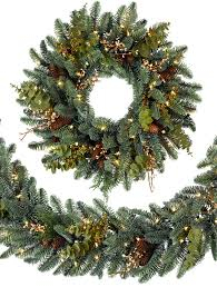 mountain meadow artificial wreath and garland balsam hill