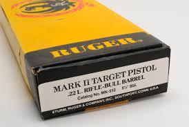 ruger mark ii target 22lr custom with adjustable competition