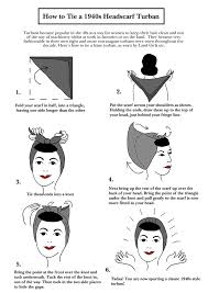1940s bandana hairstyles how to tie a head scarf 1940s google search pinteres