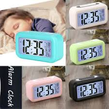 night light alarm clock rectangular silent led night light alarm clock digital calendar