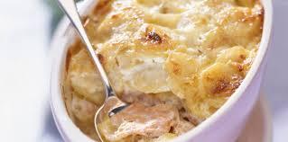 cuisiner le saumon gratin de saumon et pommes de terre facile recette sur cuisine